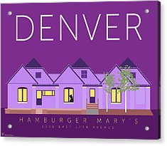 Hamburger Mary's Acrylic Print
