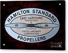 Hamilton Standard East Hartford Acrylic Print