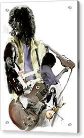 Hammer Of The Gods   Jimmy Page Acrylic Print