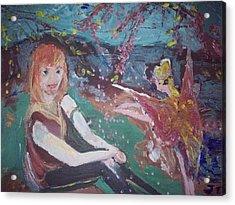 Hammy Havoc Acrylic Print by Judith Desrosiers