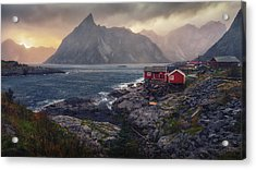 Acrylic Print featuring the photograph Hamnoy by James Billings