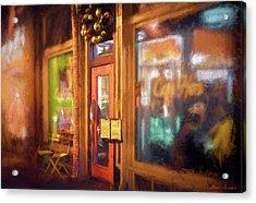 Hampden Cafe Acrylic Print by Glenn Gemmell