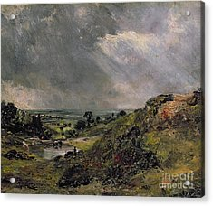 Hampstead Heath Acrylic Print by John Constable