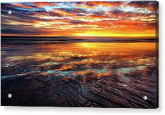 Acrylic Print featuring the photograph Hampton Beach by Robert Clifford
