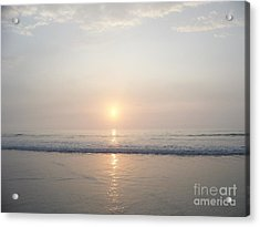 Hampton Beach Sunrise Acrylic Print by Eunice Miller