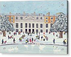 Hampton Court Palace   Fountain Gardens Acrylic Print
