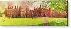 Hampton Court Palace Panorama Acrylic Print