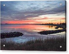 Hampton Sunrise Acrylic Print