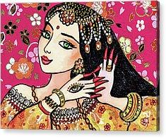 Hamsa Dance Acrylic Print