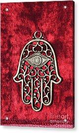 Hamsa  Acrylic Print by Shay Levy