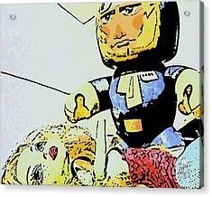 Han Solo Saves The Girl Acrylic Print