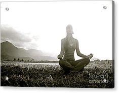 Hanalei Meditation Acrylic Print by Kicka Witte - Printscapes