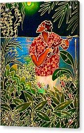 Hanalei Moon Acrylic Print