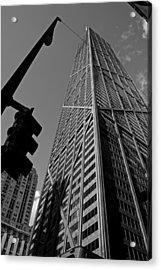 Hancock - Chicago - Acrylic Print by Miranda  Miranda