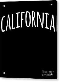Hand California Acrylic Print