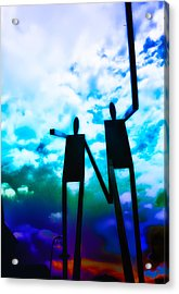 Hand In Hand Acrylic Print by Bill Cannon