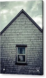 Hand In The Window Acrylic Print by Edward Fielding