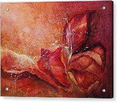 Handful Acrylic Print by Aneta  Berghane