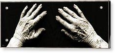 Hands  -  Stark  Reality - Photo  Acrylic Print