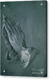 Hands Of An Apostle Acrylic Print