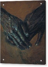 Hands Of Time Acrylic Print by Tommy  Winn