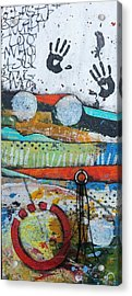 Hands Up In The Sky Acrylic Print