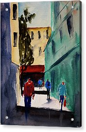Hang Ah Alley1 Acrylic Print by Tom Simmons