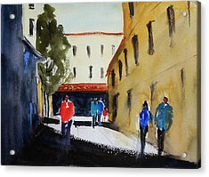 Hang Ah Alley2 Acrylic Print by Tom Simmons
