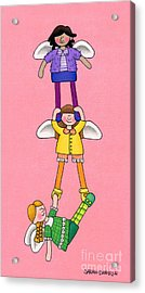 Hang In There Acrylic Print by Sarah Batalka
