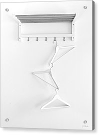 Acrylic Print featuring the photograph Hangers No. 2 by Joe Bonita
