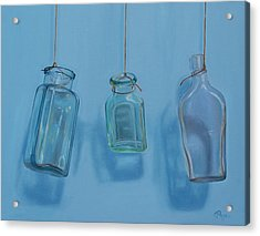 Hanging Bottles Acrylic Print