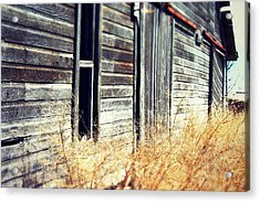 Acrylic Print featuring the photograph Hanging By A Bolt by Julie Hamilton