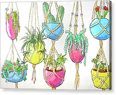 Hanging Garden Acrylic Print