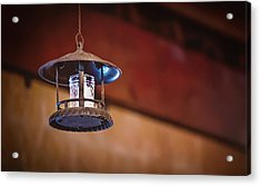Acrylic Print featuring the photograph Hanging Lantern by April Reppucci