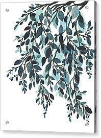 Hanging Leaves II Acrylic Print by Garima Srivastava