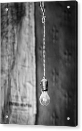 Hanging On To The Past - Bodie California Photograph Acrylic Print