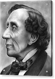 Hans Christian Andersen Acrylic Print by Greg Joens
