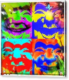 Happiness Acrylic Print by Christine Paris