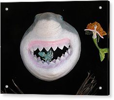 Happiness Is  Acrylic Print by Dan Townsend