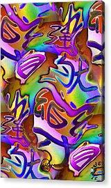Pattern 282 _ Happiness Acrylic Print