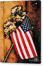Happy 4th Of July Acrylic Print