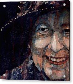 Happy 90th Birthday Elizabeth 11 Acrylic Print by Paul Lovering