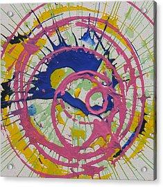 Happy Acrylic Print by Michael Palmer