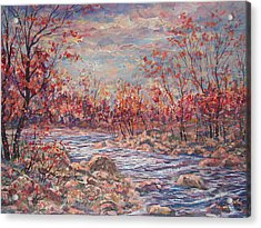 Happy Autumn Days. Acrylic Print