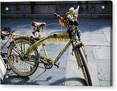 Happy Bike Acrylic Print by Garry Gay