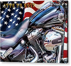 Happy Birthday America Acrylic Print