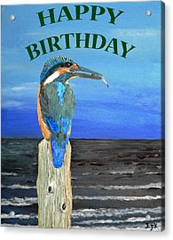 Happy Birthday Acrylic Print