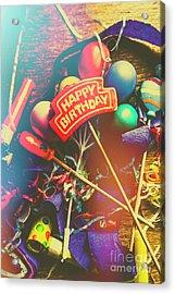Happy Birthday Acrylic Print by Jorgo Photography - Wall Art Gallery
