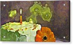 Happy Birthday - Pa Acrylic Print by Leonardo Digenio