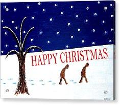 Happy Christmas 15 Acrylic Print by Patrick J Murphy
